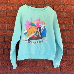 Adventure Time Sweatshirt Size Large